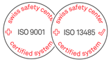 distec iso13485 und iso9001 zertifikate